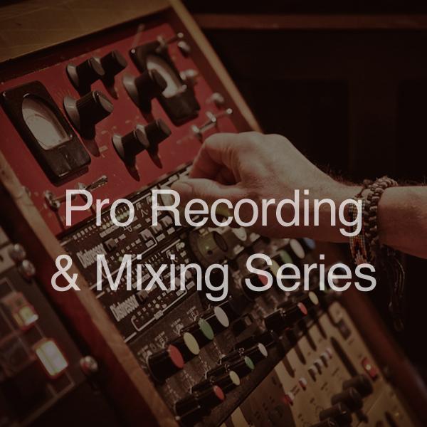 Pro rec and mixing series- Ken